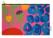 Poppy And Delphinium Carry-all Pouch