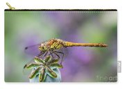 Poppy And The Dragonfly Carry-all Pouch