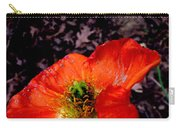Poppy At Dusk Carry-all Pouch