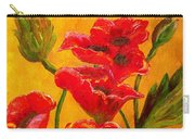 Poppy Bouquet Carry-all Pouch
