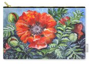 Poppy Brilliance Carry-all Pouch