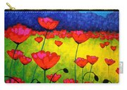 Poppy Cluster Carry-all Pouch