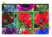 Poppy Collage Carry-all Pouch