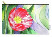 Poppy Couple Gentle Wind Carry-all Pouch