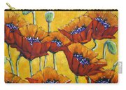 Poppy Craze By Prankearts Carry-all Pouch