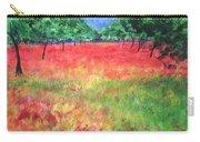 Poppy Field II Carry-all Pouch