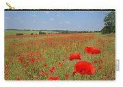 Poppy Fields 1 Carry-all Pouch