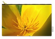 Poppy Flower Close Up Macro 20 Poppies Meadow Giclee Art Prints Baslee Troutman Carry-all Pouch