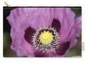 Poppy Flower Close Up Carry-all Pouch
