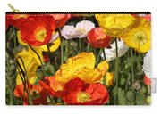 Poppy Flower Garden Carry-all Pouch