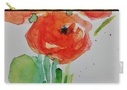 Poppy Flowers 1 Carry-all Pouch
