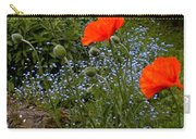 Poppy Foursome Carry-all Pouch