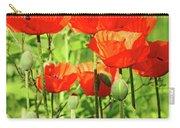 Poppy Garden I Carry-all Pouch