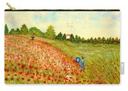 Poppy Hill Carry-all Pouch