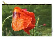 Red Poppy II Carry-all Pouch