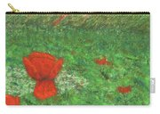 Poppy In Country Carry-all Pouch