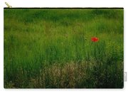 Poppy In The Field Carry-all Pouch