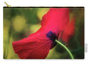Poppy In The Rain Carry-all Pouch