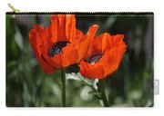 Poppy Pair Carry-all Pouch