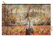 Poppy Scarecrow Carry-all Pouch