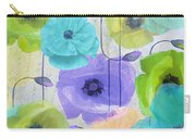 Poppy Shimmer Iv Carry-all Pouch