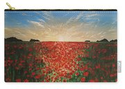 Poppy Sunset Carry-all Pouch