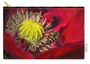 Poppy Visited Part II Carry-all Pouch