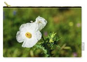 Poppy Wildflower Carry-all Pouch