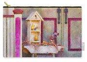 Porch - Cranford Nj - The Birdhouse Collector Carry-all Pouch by Mike Savad