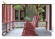 Porch With Rocking Chairs Carry-all Pouch
