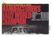 Porsche 1970 Rally World Champion Carry-all Pouch