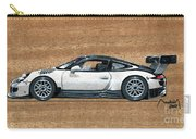 Porsche 911 Gt3r On Wood Carry-all Pouch