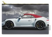 Porsche 911 Turbo S With Clouds Carry-all Pouch
