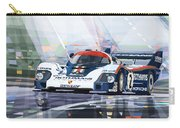 Porsche 956 Rothmans 1982 1000km Francorchamps Derek Bell Carry-all Pouch by Yuriy Shevchuk