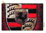 Porsche Emblem Carry-all Pouch