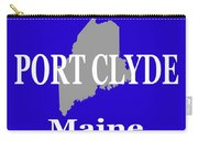 Port Clyde Maine State City And Town Pride  Carry-all Pouch