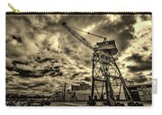 Port Crane At Sunset Carry-all Pouch