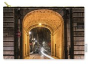 Port Dinan Archway At Night Carry-all Pouch