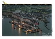 Port Liberte, Jersey City Aerial Night View Carry-all Pouch