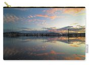 Port Of Anacortes Marina At Sunset Carry-all Pouch