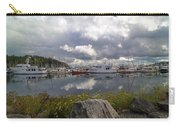 Port Of Anacortes Marina On A Cloudy Day Carry-all Pouch