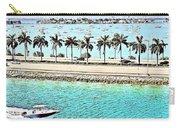 Port Of Miami - Miami, Florida Carry-all Pouch