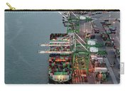 Port Of Oakland Aerial Photo Carry-all Pouch