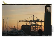Port Of Oakland Sunset Carry-all Pouch
