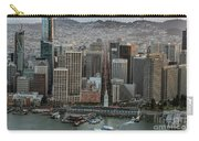 Port Of San Francisco And Downtown Financial District Carry-all Pouch
