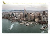 Port Of San Francisco And Downtown Financial Districtport Of San Francisco And Downtown Financial Di Carry-all Pouch