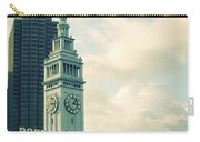 Port Of San Francisco Carry-all Pouch by Linda Woods