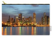 Port Of Singapore With City Skyline Carry-all Pouch