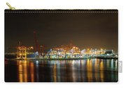 Port Of Vancouver Bc At Night Carry-all Pouch