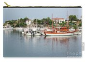 Port With Sailboat And Fishing Boat Carry-all Pouch